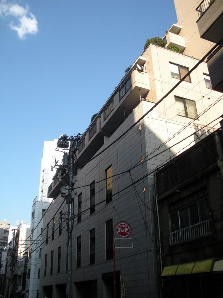 セブン築地の外観