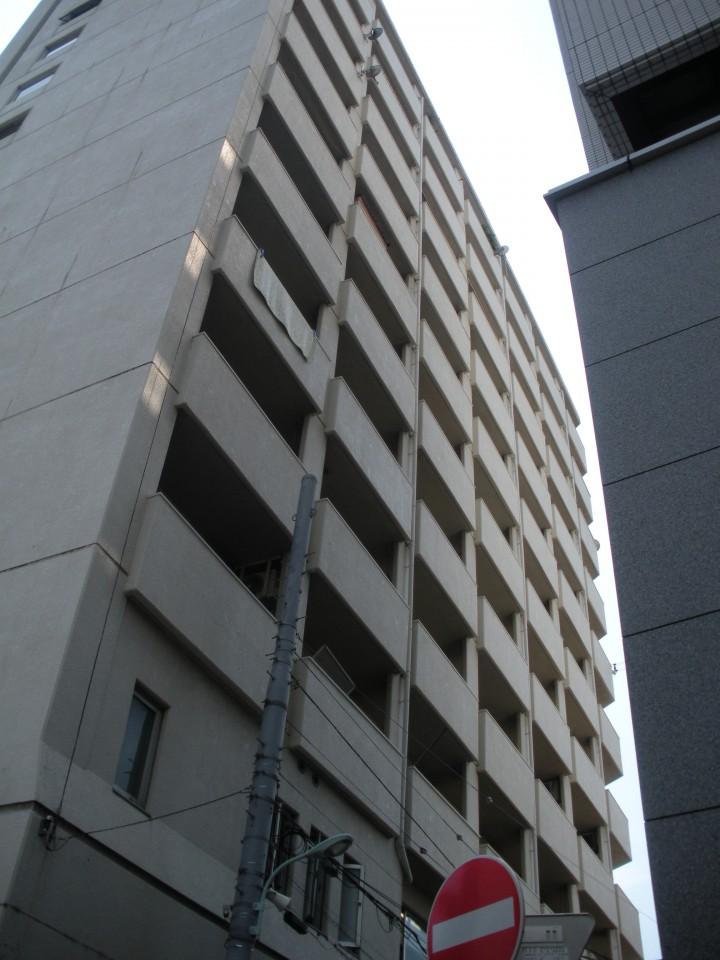 モンテベルデ築地の外観
