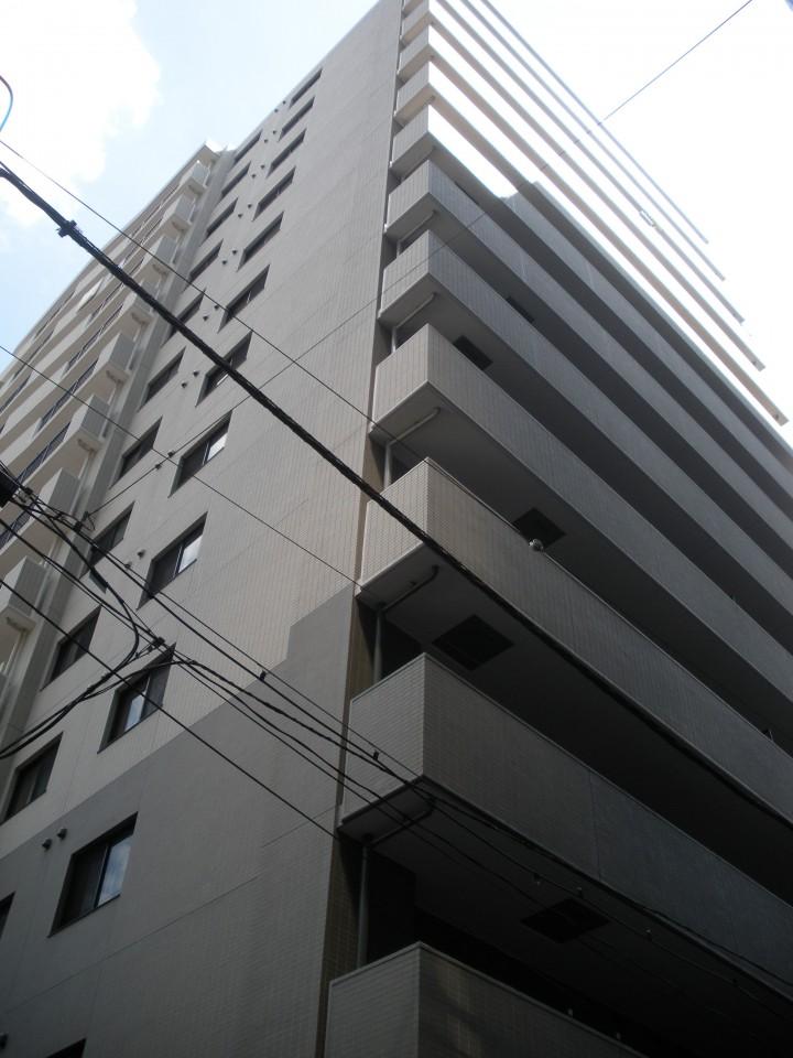 モアクレスト築地の外観