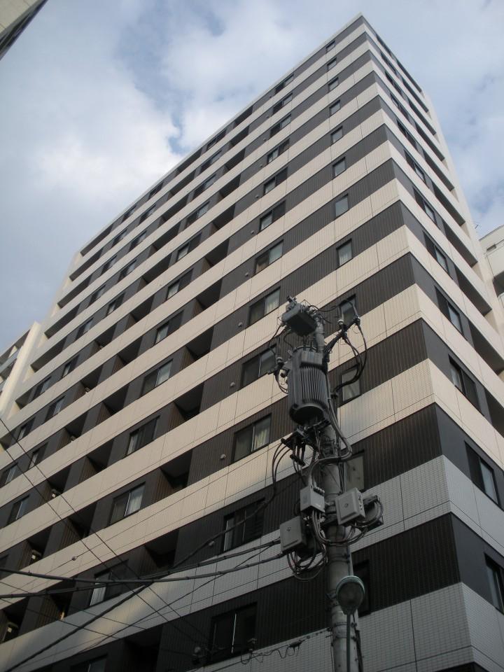 ウィルローズ築地の外観