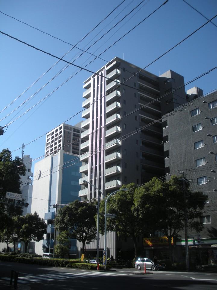 東京ミッドベイ勝どきの外観