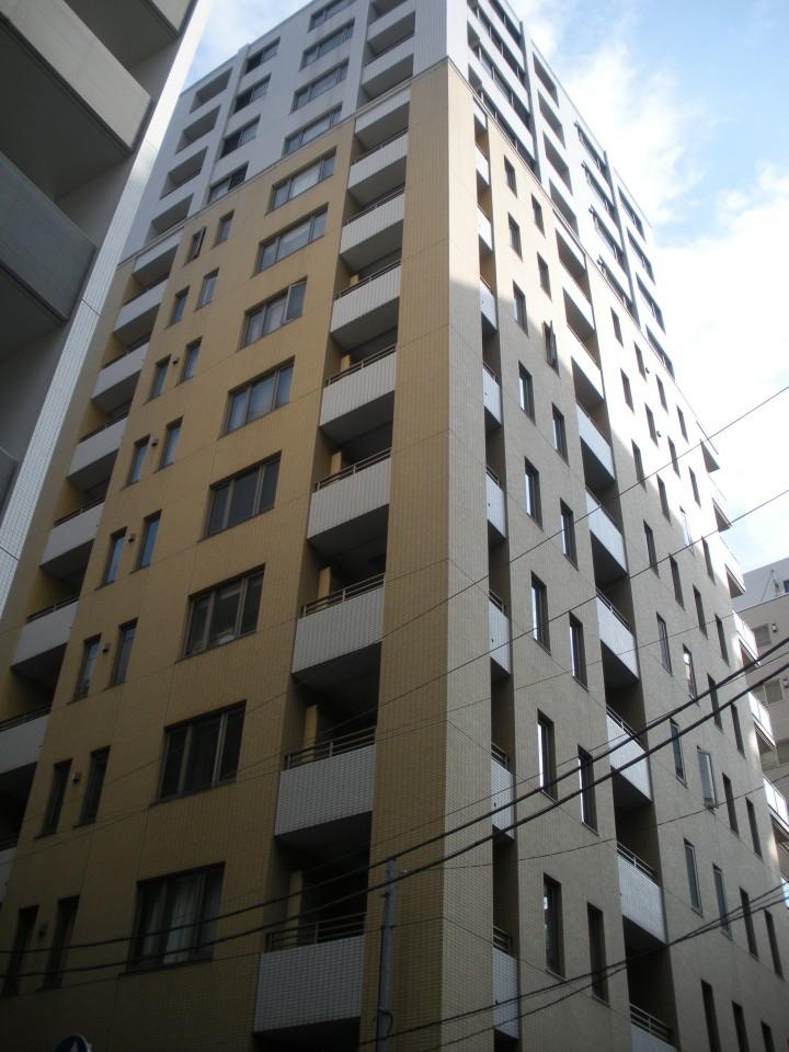 ファミール東銀座グランスイートタワーの外観